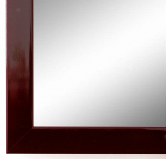 Spiegel Wandspiegel Badspiegel Flur Garderobe Modern Como dunkel Rot Lack 2, 0