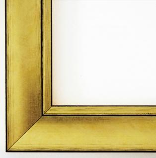 Bilderrahmen Dortmund Gold 4, 2 - DIN A1 - DIN A2 - DIN A3 - DIN A4