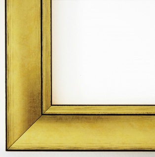 Bilderrahmen Gold Modern Antik Holz Foto Urkunde Shabby Dortmund 4, 2 alle Größen