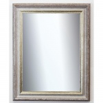 Badspiegel Beige Silber Trento Antik Shabby 5, 4 - NEU alle Größen