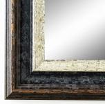 Garderobenspiegel Schwarz Silber Trento Antik Shabby 5, 4 - alle Größen