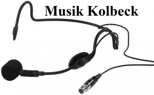 Monacor HSE-90, 23.4070, Kopfbügelmikrofone, mit 3-Pol-Mini-XLR-Kupplung