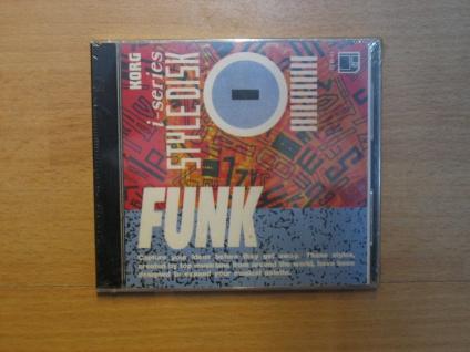 Korg i-series Styl Disk, i3, i2, Funk, IFD-01, gebraucht