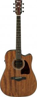 Ibanez AW54CE-OPN, Artwood Akustikgitarre, 6 String, Open Pore Natural