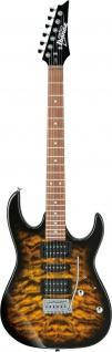 IBANEZ GRX70QA-SB, GIO E-Gitarre 6 String Sunburst
