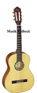 Ortega R121 3/4 Grösse Konzertgitarre mit Gig Bag,