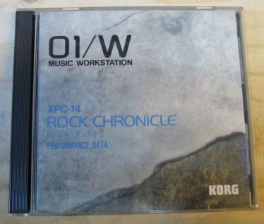 Korg 01/W XPC-14 Rock Chronicle by shoufuku, gebraucht