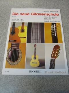 Die neue Gitarrenschule Band 1, Heinz Teuchert, 978-3-931788-36-0