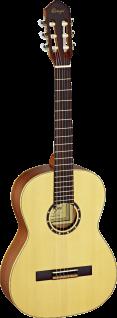 ORTEGA R121 3/4 Family Serie, Konzertgitarre, inkl. Tasche, Kindergitarre