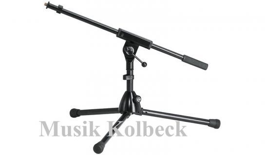 K & M 259/1 Extrem niedrige Ausführung für Bass-Drum, Mikrofonständer, 25910