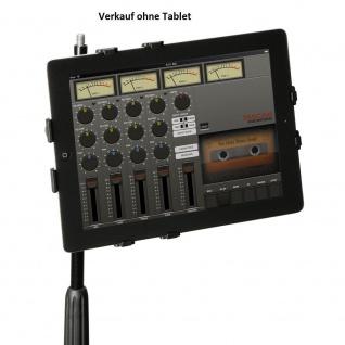 Adam Hall Stands SMS14PRO Professionelle iPad-Halterung für Mikrofon Stative
