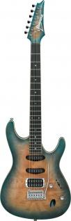IBANEZ, SA460MBW-SUB, SA-Serie E-Gitarre 6 String Sunset Blue Burst