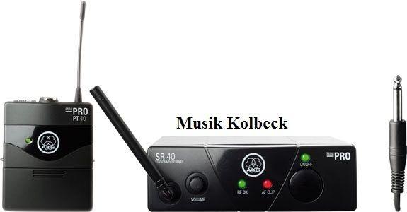 AKG WMS40 Mini Instrumental Set für Instrumente ISM2, Drahtlos, 864.375 MHz