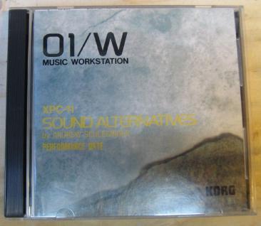 Korg 01/W XPC-11, Sound Alternatives, by Andrew Schlesinger, gebraucht