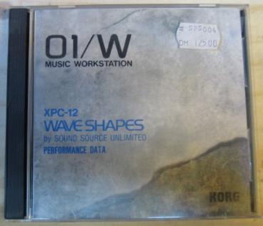 Korg 01/W XPC-12 Wave Shapes, by sound source unlimited, gebraucht