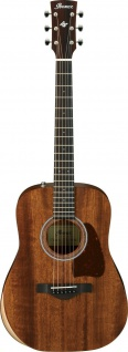 Ibanez AW54JR-OPN, Dreadnought Junior Body, Westerngitarre, Open Pore Natural
