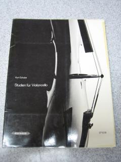 Studien für Violoncello, 1-4 Lage, Kurt Schulze, EP8316 B Ware