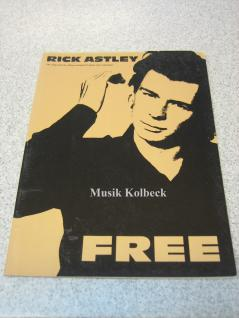 FREE, Rick Astley In The Name Of Love, Cry For Help, Move Tight Out, 0-7119-2766-9