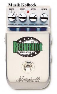 Marshall RG1, RG 1 Stereo Modulation, 6 Effekte in einem, PEDL-10036 Regenerator