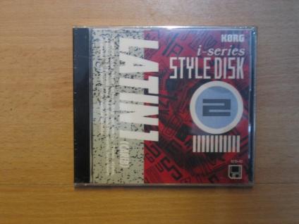 Korg i-series Styl Disk, i3, i2, LATIN1 (Carib), IFD-02, gebraucht