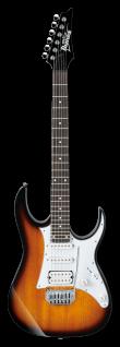 Ibanez GRG140-SB, E-Gitarre, Sunburts