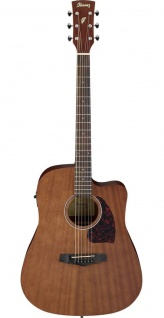 Ibanez PF12MHCE-OPN, Westerngitarre, Ibanez Under Saddle, AEQ-2T, Dreadnought