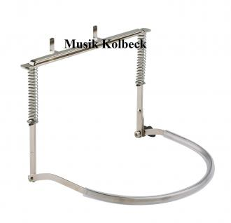 K & M 16410 Mundharmonikahalter - nickelbarbig K & M 164/1, 16410-000-11