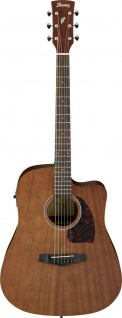 Ibanez PF12MHCE-OPN, Dreadnought, Westerngitarre, Open Pore Natural