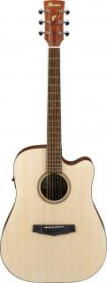 IBANEZ PF10CE-OPN, PF-Serie Akustikgitarre 6 String Performance Black