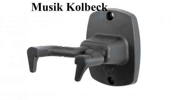 K & M 16240 Gitarrenwandhalter NEU K & M 162/4