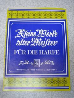 Kleine Werke alter Meister, Harfe, JP6204, Partita, Pavane, Minuet, B Ware