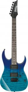 IBANEZ GIO, GRG120QASP-BGD, E-Gitarre 6 String Blue Gradation