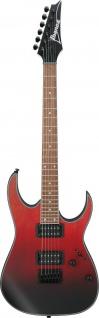 IBANEZ RG-Serie, RG421EX-TCM E-Gitarre 6 String Transparent Crimson Fade Matte