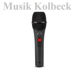 Wharfedale DM 5.0S Dynamisches Mikrofon, 3m Kabel, Schalter, Mikroklammer K & M
