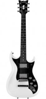 HAGSTROM E-Gitarre, H-II NT Ltd, 60th Anniversary, White Top, H2NT6002