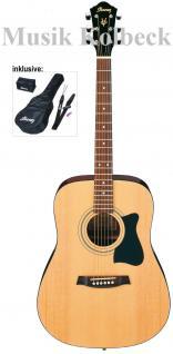 Ibanez V50NJP-NT, Akustikgitarren Set, Starterpaket, Tasche und Zubehör, Jampack