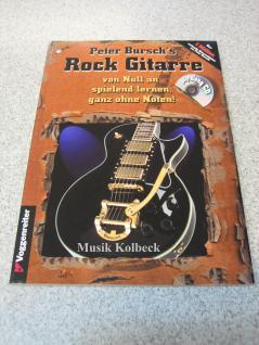 Peter Bursch's Rock Gitarre (mit CD), alte Auflage, 987-3-8024-0228-9