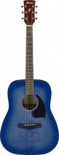 Ibanez PF18-WDB, Dreadnought, Westerngitarre, Washed Denim Burst Open Pore