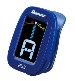 Ibanez PU3-BL, CLIP AUTO TUNER CHROMATISCH, Stimmgerät, blau