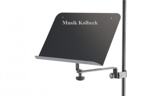 K & M 11520 Noten- und Konzepthalter Notenablage schwarz K & M 115/2 NEU
