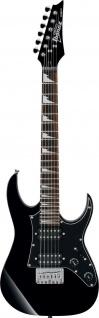 Ibanez GRGM21 BKN, miKro E-Gittarre, Kindergitarre, schwarz, Kinder E-Gitarre
