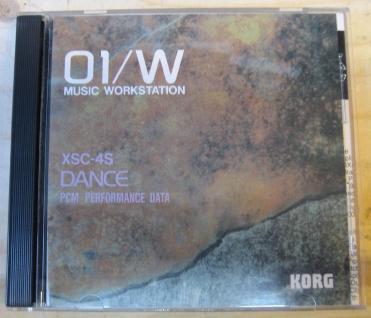 Korg 01/W XSC-4S, XSC-804, Dance, PCM Performance Data, gebraucht