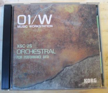 Korg 01/W XSC-2S, XSC-802, Orchestral PCM / Performance Data, gebraucht