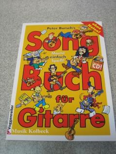 Songbuch für Gitarre 1 Peter Bursch, DIE FREIHEIT, 978-3-8024-0366-8