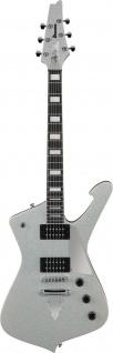 """IBANEZ PS60-SSL Paul Stanley """" KISS"""" Signature E-Gitarre Silver Sparkle"""