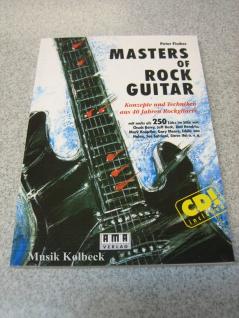 Masters Of Rock Guitar, Masters Of Rock Guitar, 978-3-927190-03-0