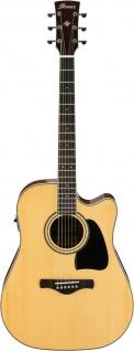 Ibanez AW70ECE-NT, Artwood Akustikgitarre, 6 String, Open Pore Natural