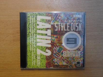 Korg i-series Styl Disk, i3, i2, LATIN2 (Brazil), IFD-09, gebraucht