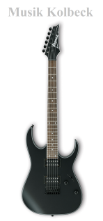 Ibanez RG421EX-BKF, E-Gitarre RG Serie BKF - Black Flat