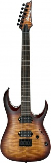 IBANEZ RGA42FM-DEF, RG-Serie E-Gitarre 6 String Dragon Eye Burst Flat, B-Ware